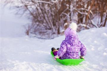 Санки, снегокаты, ледянки